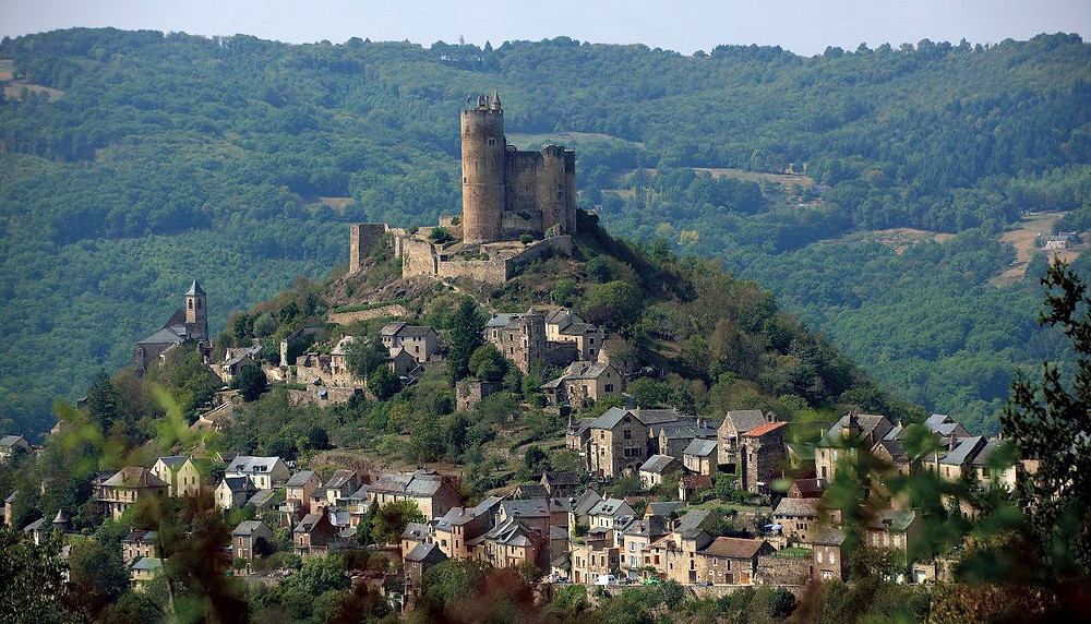 Najac Fortress in southern France