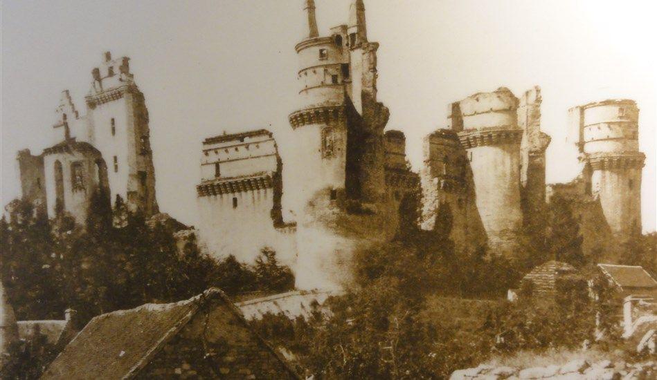 Pierrefonds as a ruin after Richelieu's siege