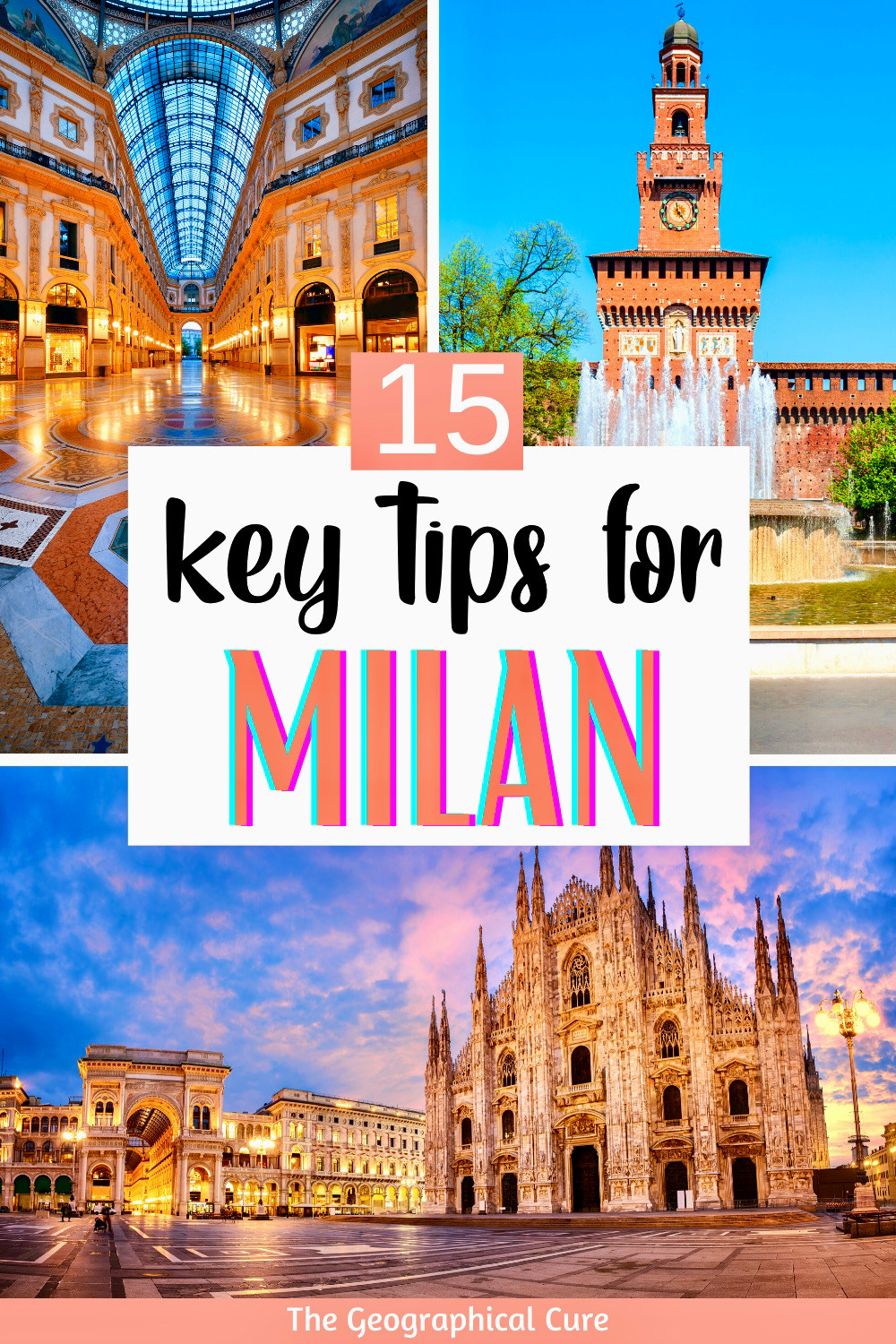 must know tips and tricks for visiting Milan Italy