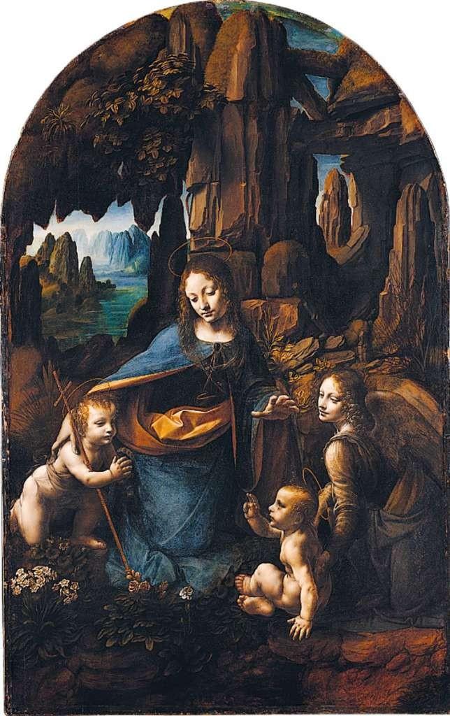 Leonardo da Vinci, Virgin of the Rocks, 1483
