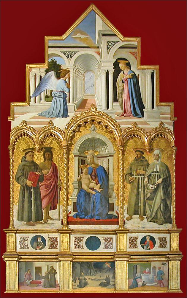 Piero della Francesca, Polyptych of Perugia, 1468