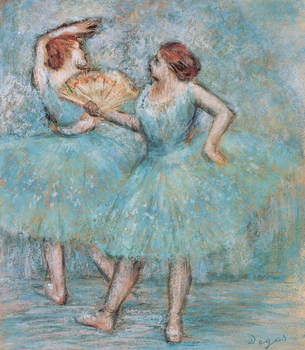 Edgar Degas, Two Dancers, 1905