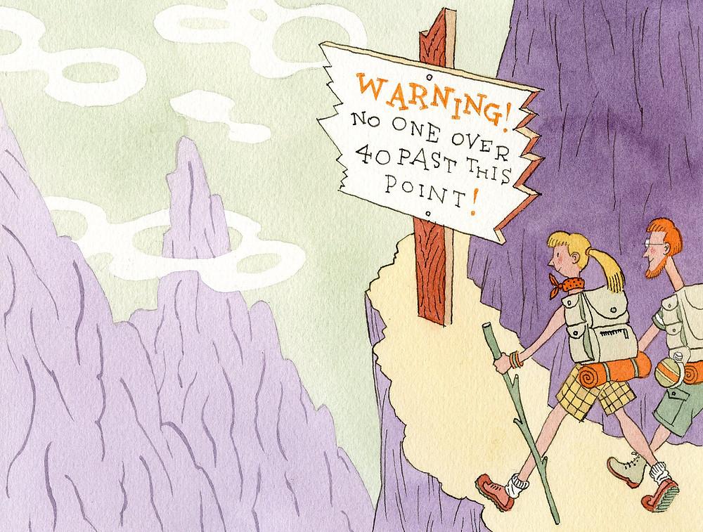 young adventurers seeking an yolo experience