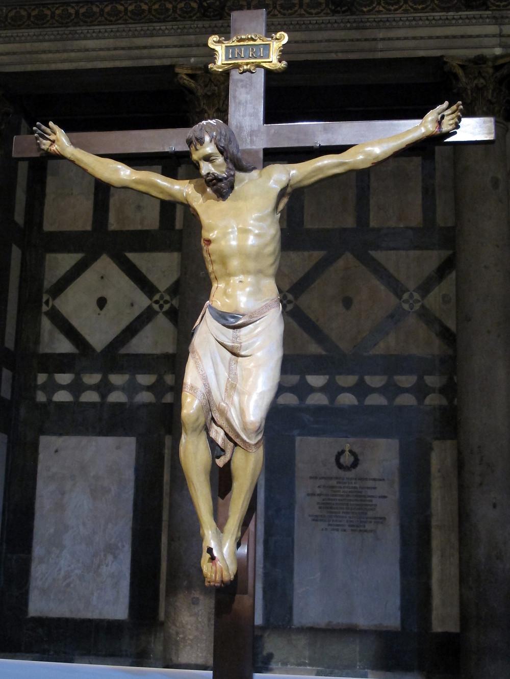 Donatello, Crucifix, 1406-08