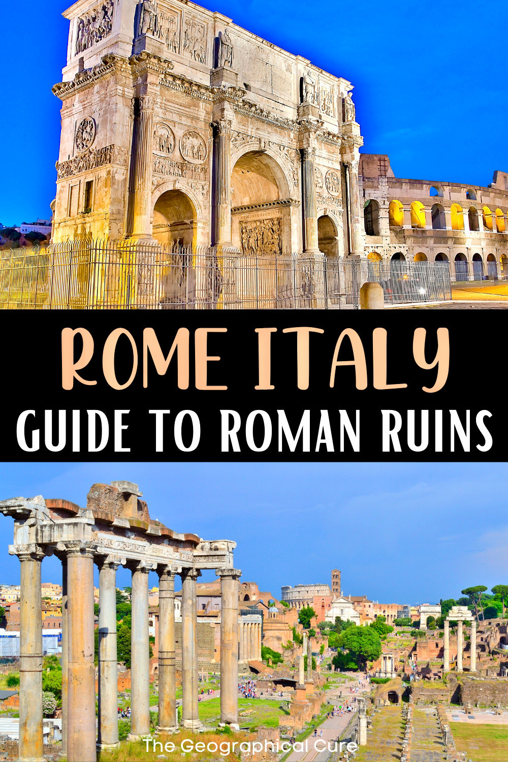 ultimate guide to Roman ruins and archaeological sites in Rome, for your Rome bucket list