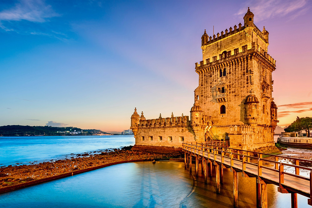 the Tower of Belem, a UNESCO site