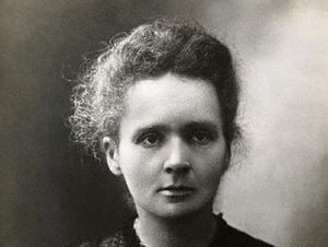 photograph of Marie Curie