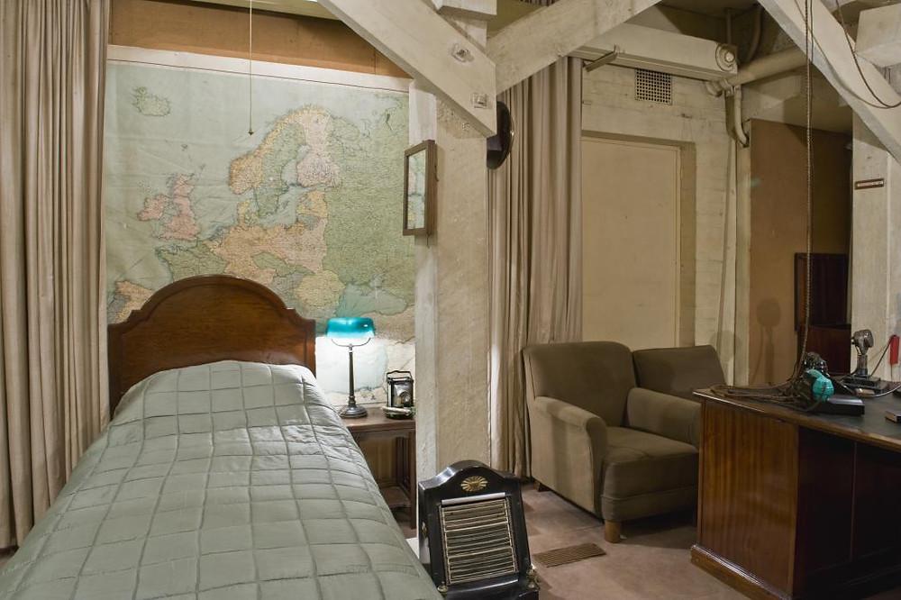 Churchill's Office-Bedroom