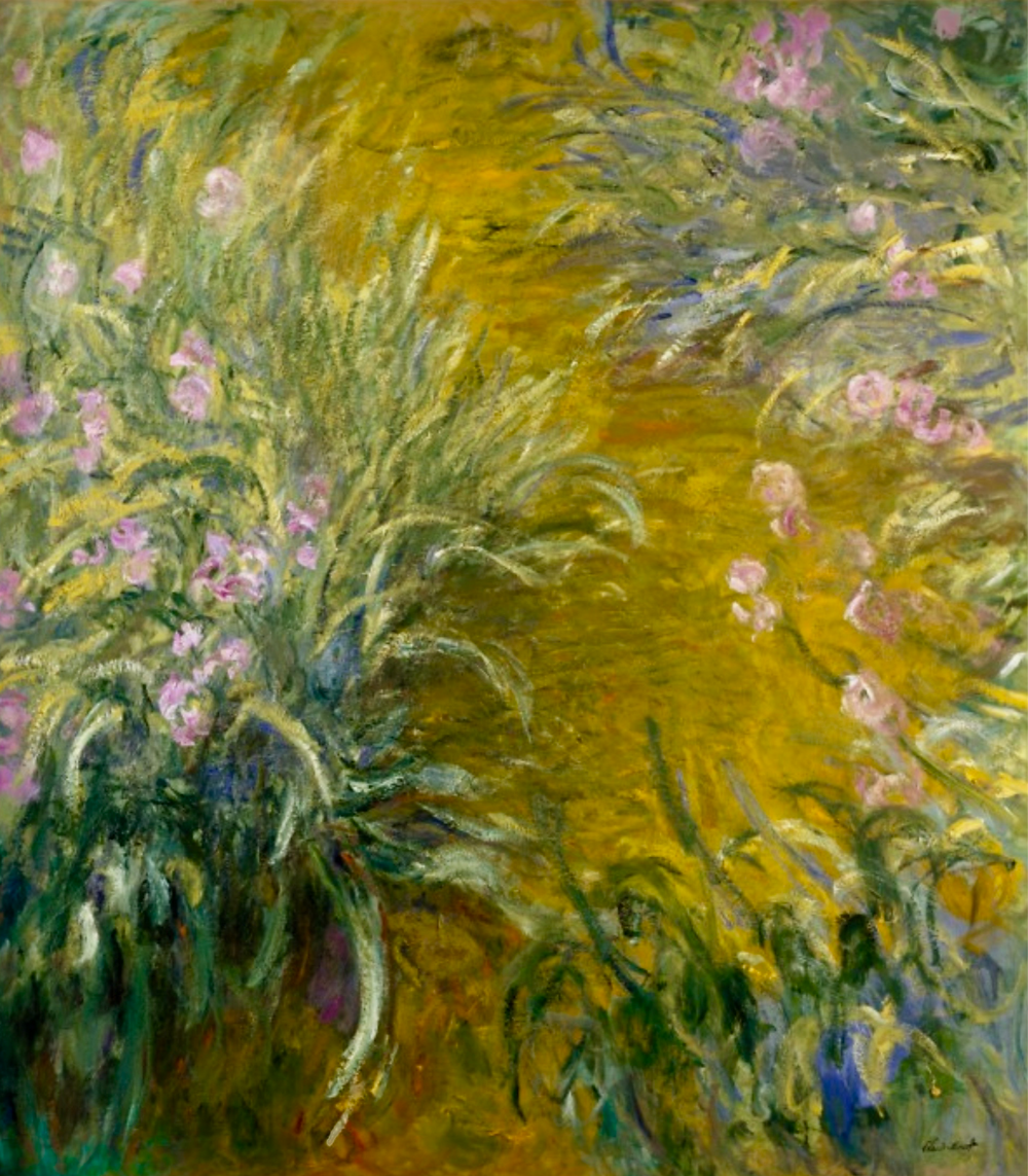 Claude Monet, The Path Through the Irises, 10914-15 -- at the Met in NYC