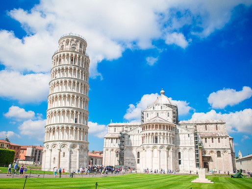 The Leaning Tower of Pisa: the Mount Everest of Lopsided Buildings