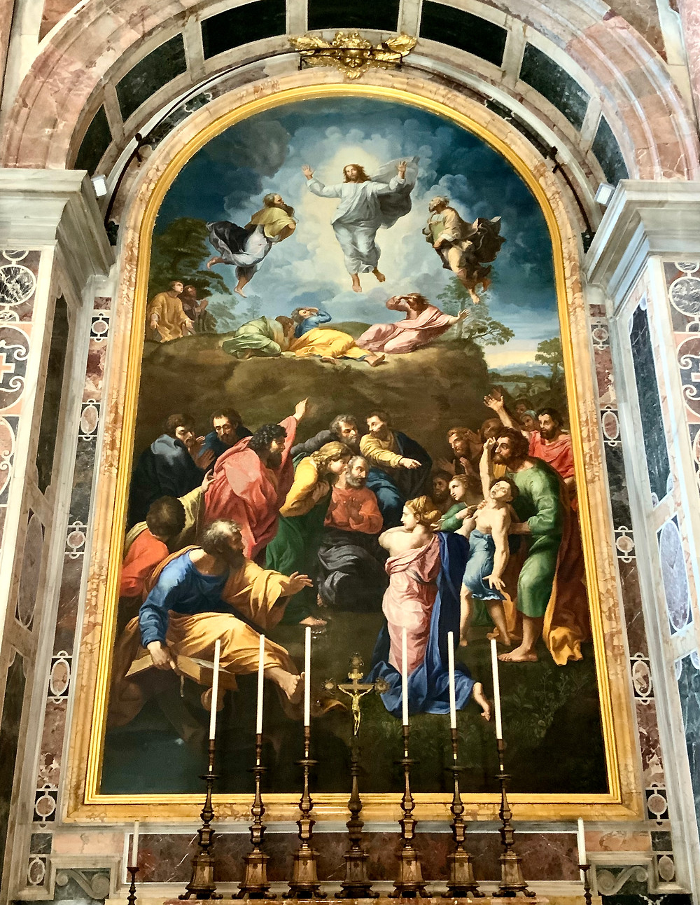 Mosaic of Raphael's Transformation