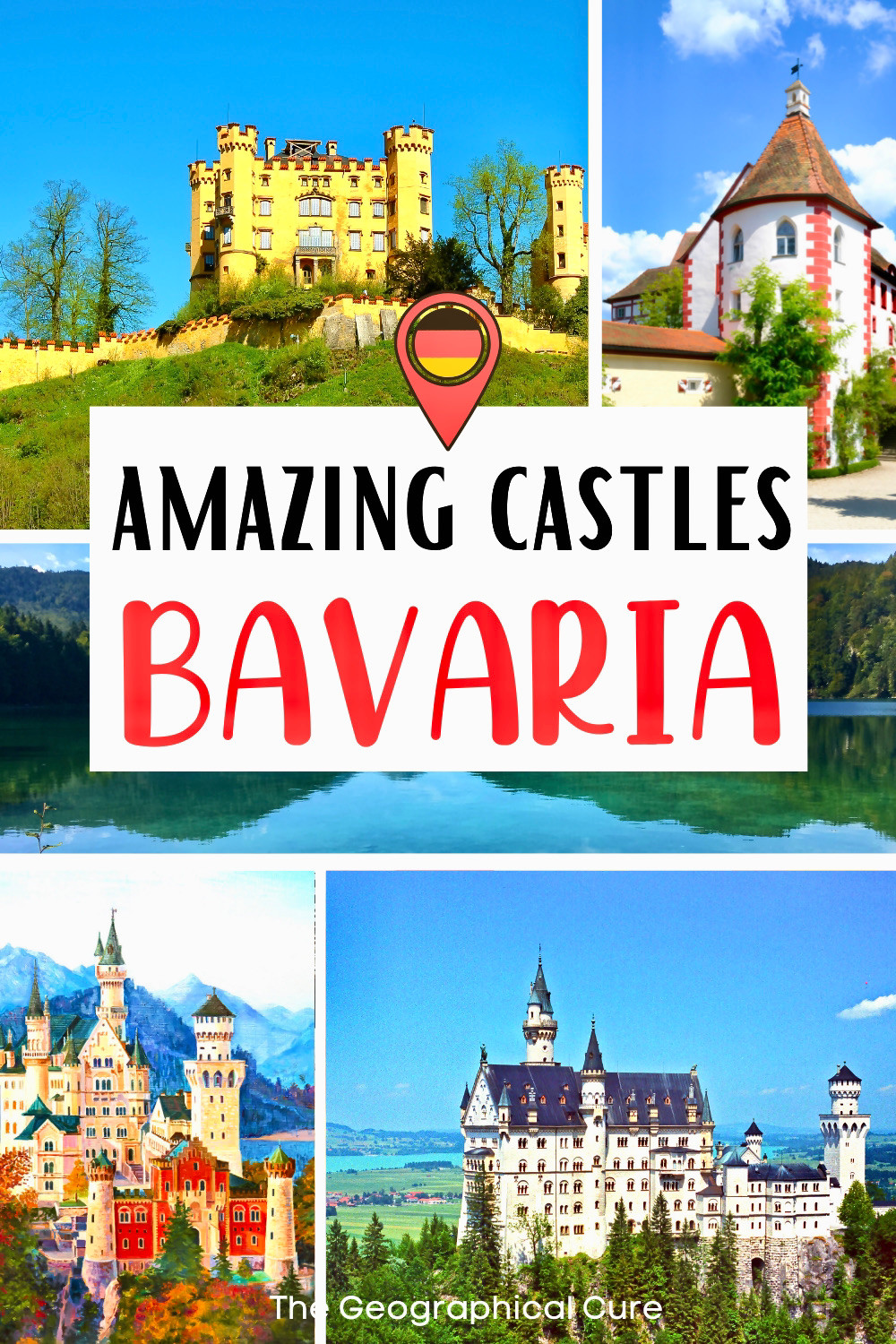 ultimate guide to the amazing fairytale castles of Bavaria Germany