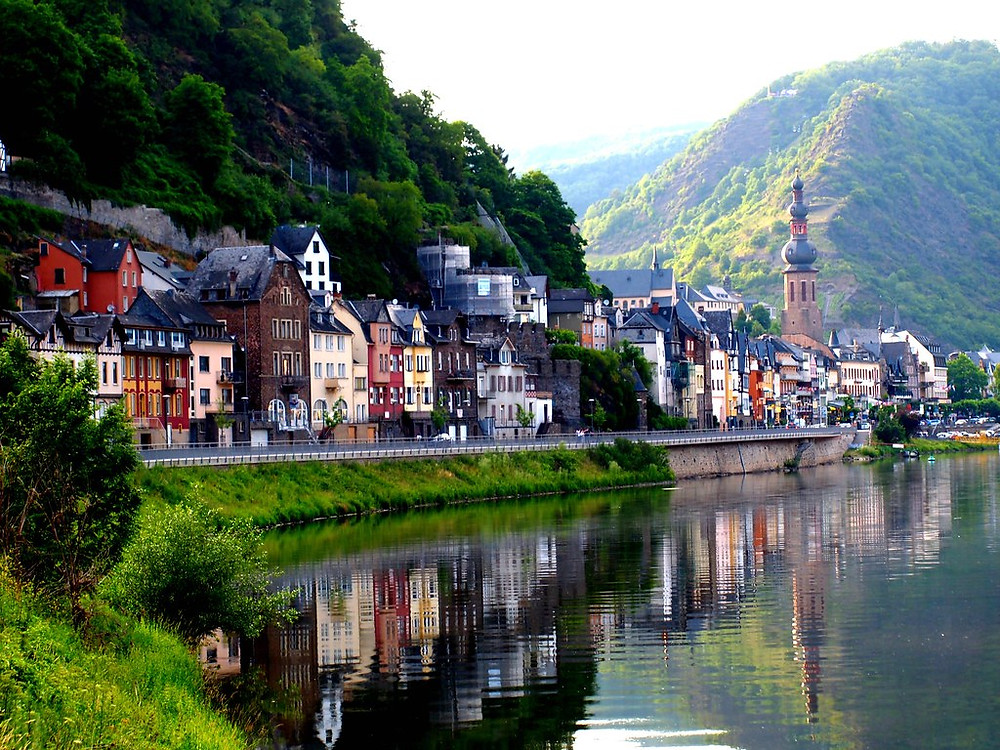 the  pretty town of Cochem