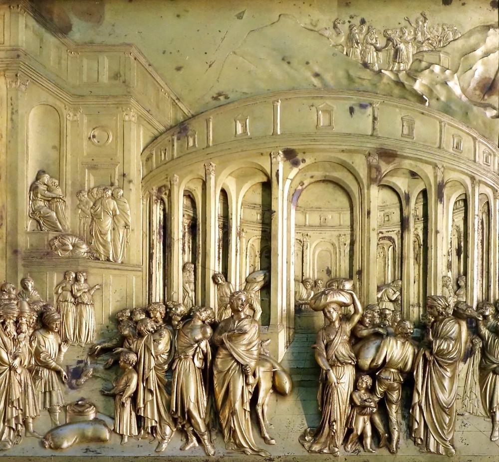 panel from Ghiberti's Gates of Paradise doors