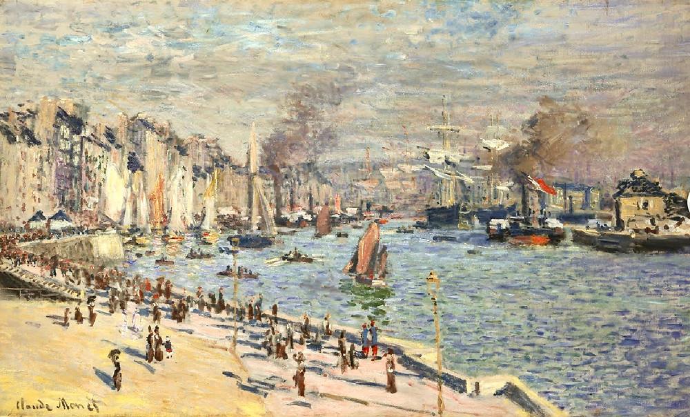 Monet, Port of Le Havre, 1874