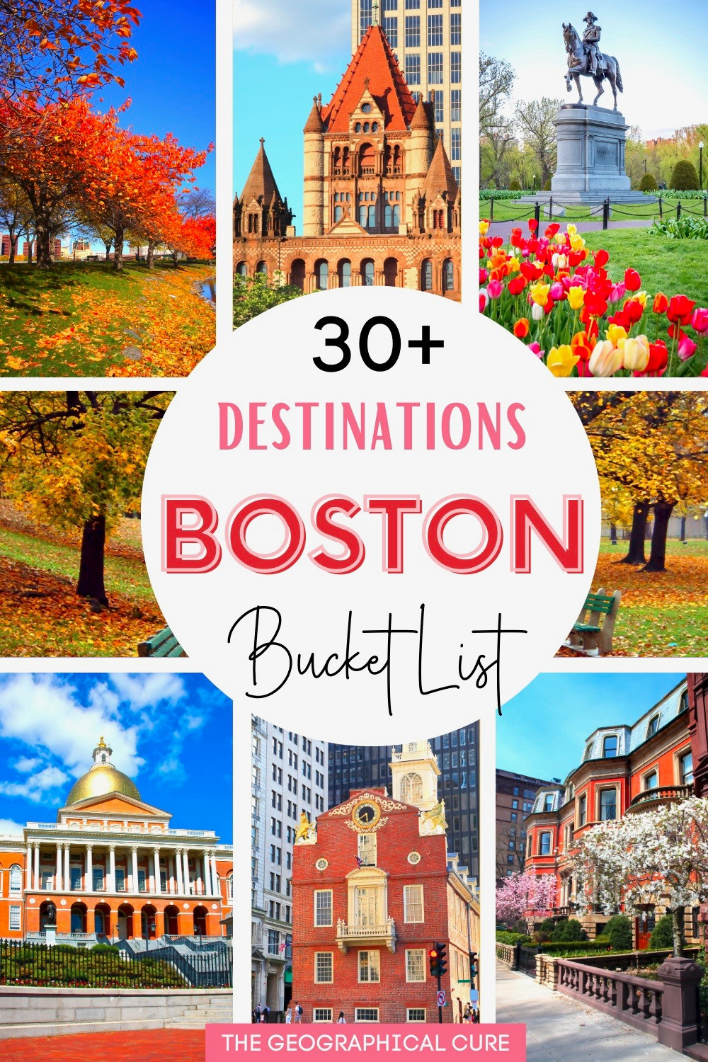 bucket list attractions and landmarks in Boston MA