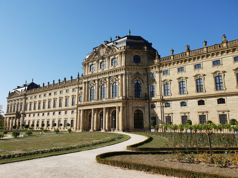 exterior of the Wurzburg Residenz