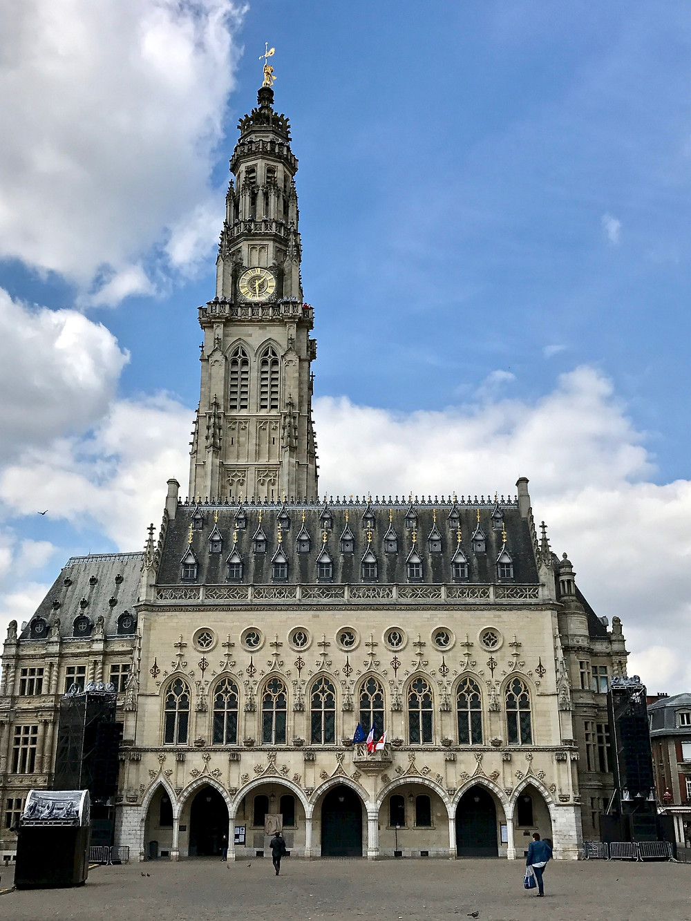 the UNESCO-listed belfry of Arras