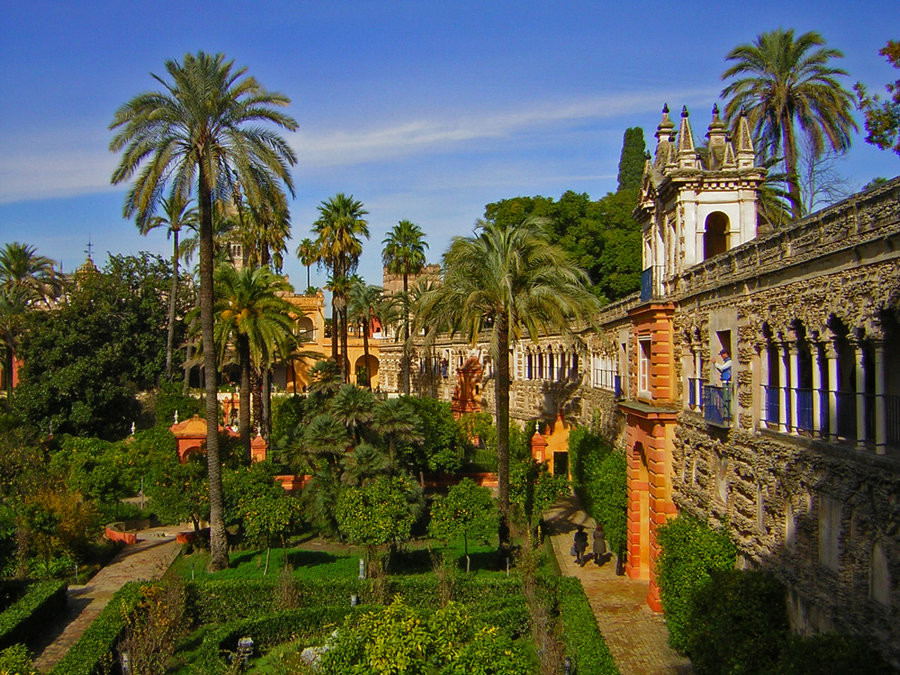 the spectacular gardens of the Royal Alcazar of Seville, which serves as Dorne in Game of Thrones