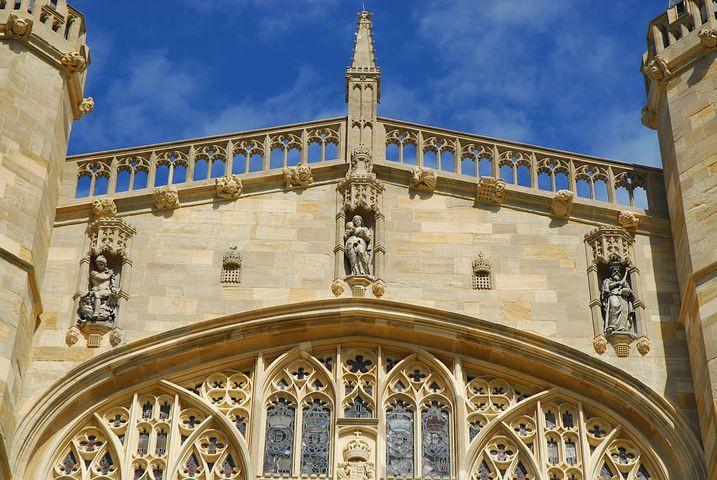 chapel detail Windsor Castle