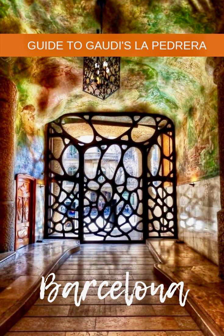 Guide to Gaudi's La Pedrera in Barcelona