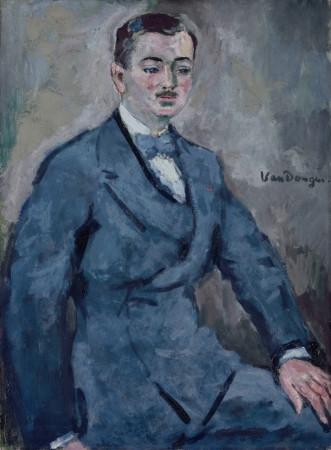 Kees van Dongen, Portrait of Paul Guillaume, 1830