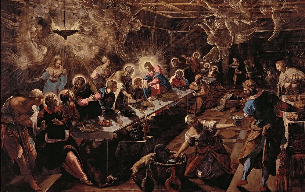 Jacopo Tintoretto, The Last Supper, 1594