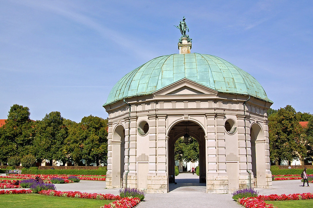 the Diana Temple in Munich's Hofgarten