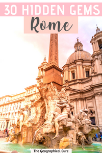 guide to off the beaten path hidden gems in Rome Italy