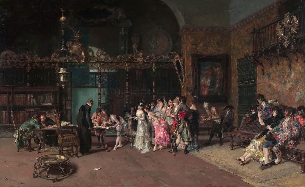 Maria Fortuny, The Spanish Wedding, 1874