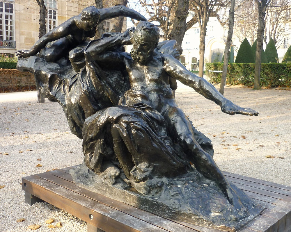 Auguste Rodin, Monument to Hugo, 1890 -- in the Rodin Museum in Paris