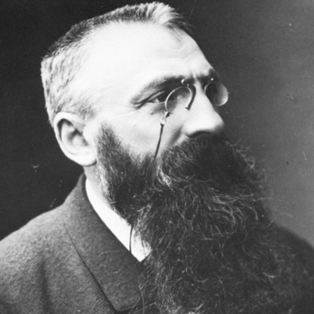 the sculptor Auguste Rodin