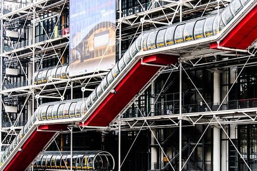 the Pompidou Center in Paris
