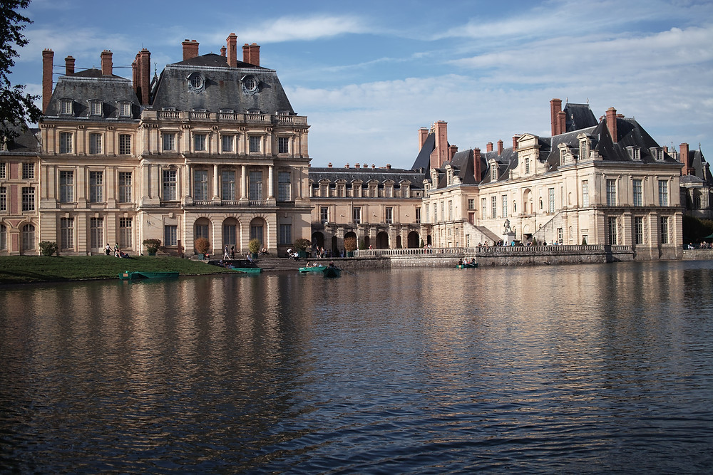 Chateau Fontainebleau outside Paris