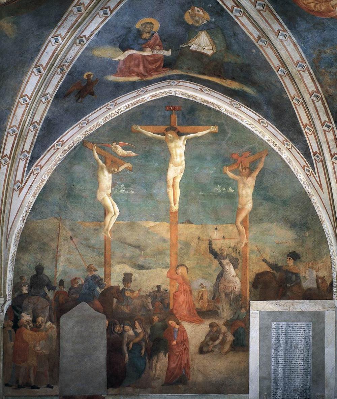 central frescos in the Castiglione Chapel