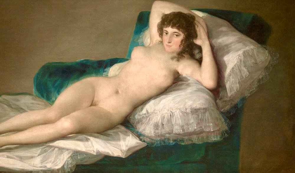 Francisco Goya, Nude Maya, 1797-1800