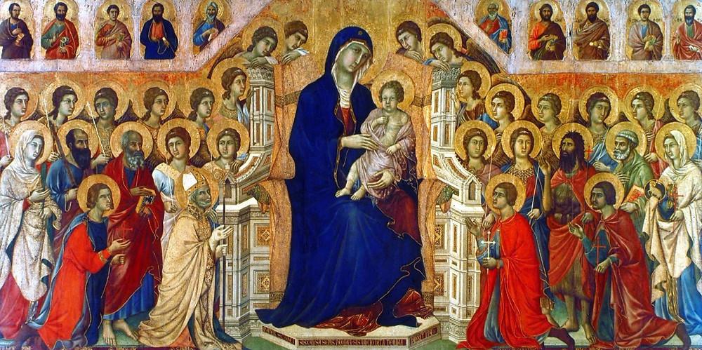 Duccio's Maesta in Siena