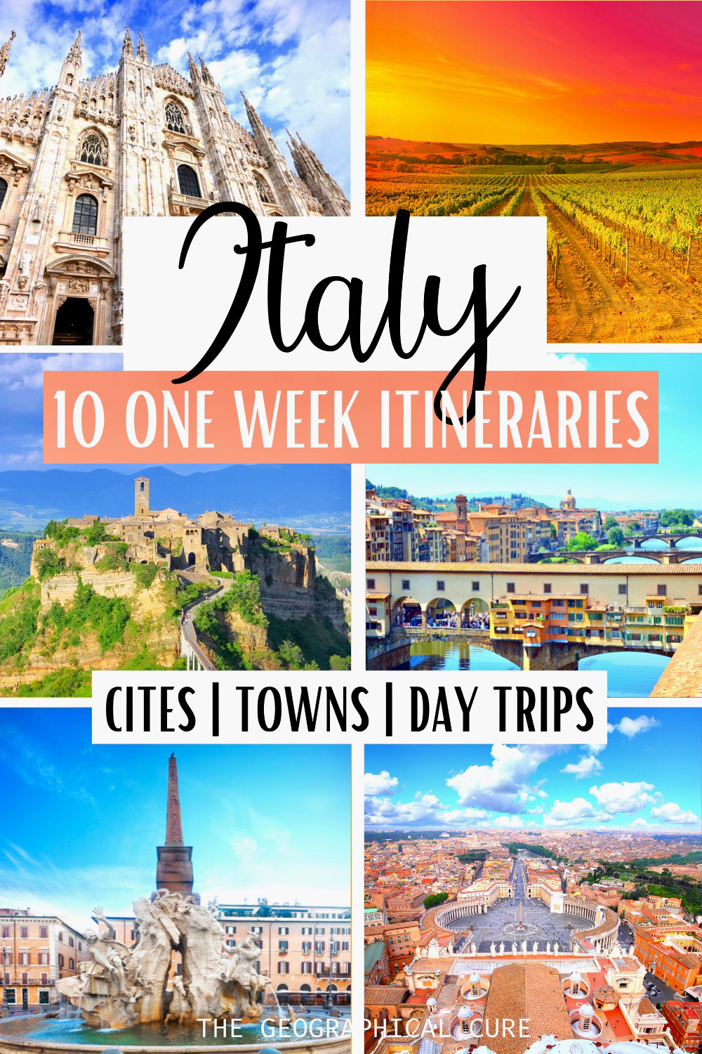 11 ways to spend 1 week in Italy