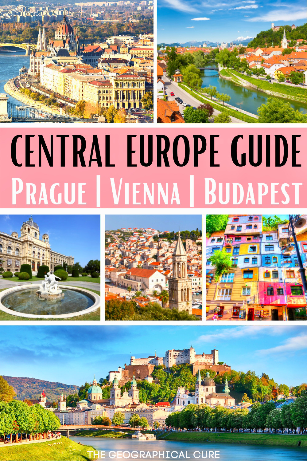 the best 10 day itinerary for Central Europe