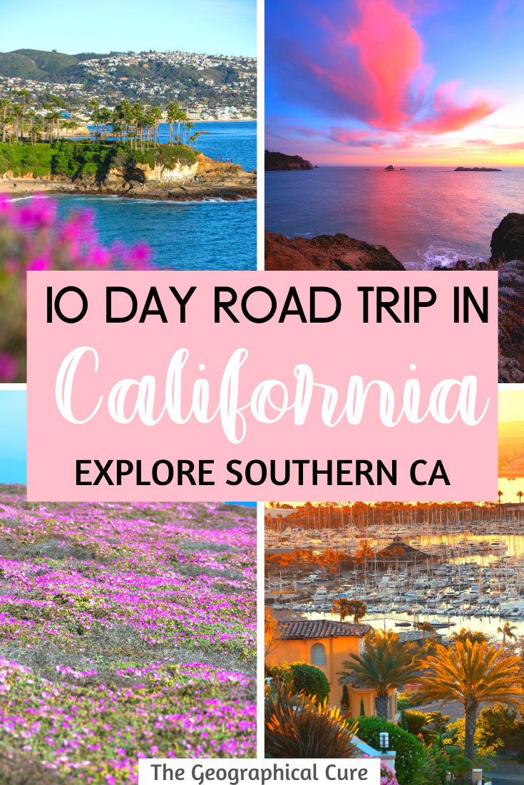 Perfect Road Trip Itinerary for Southern California