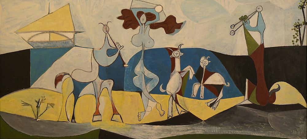 Pablo Picasso, La Joie de Vivre, 1946