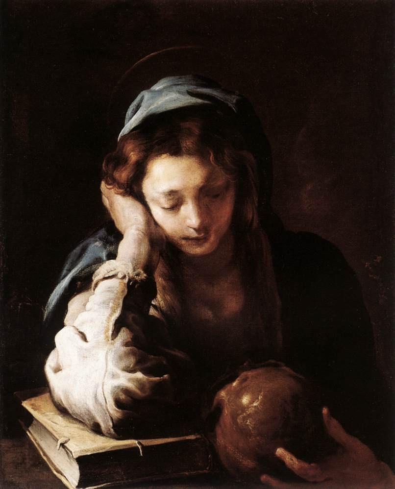 Domenico Fetti, Penitent Magdalen, 1615