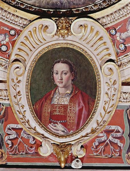 Vasari portrait of Eleanor of Toledo, wife of Cosimo I