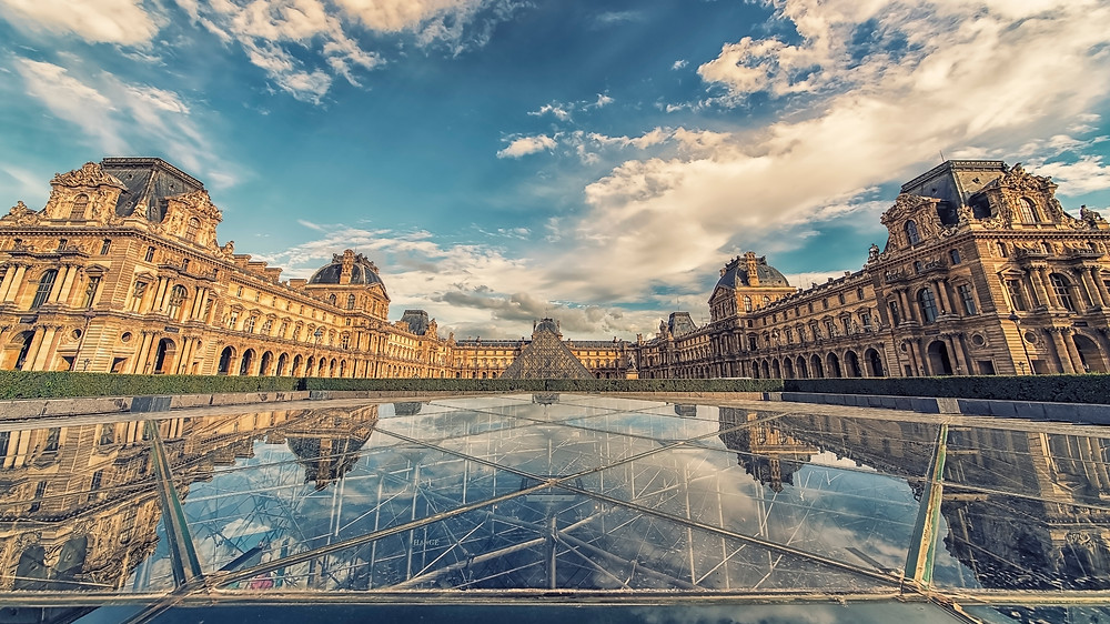 the Louvre, one of the world's greatest museums and a must see site in Paris