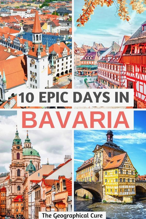 epic 10 day itinerary for Bavaria Germany