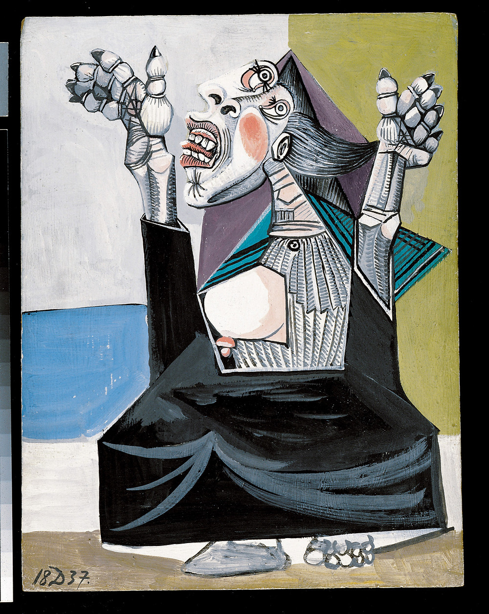 Pablo Picasso, The Suppliant, 1937