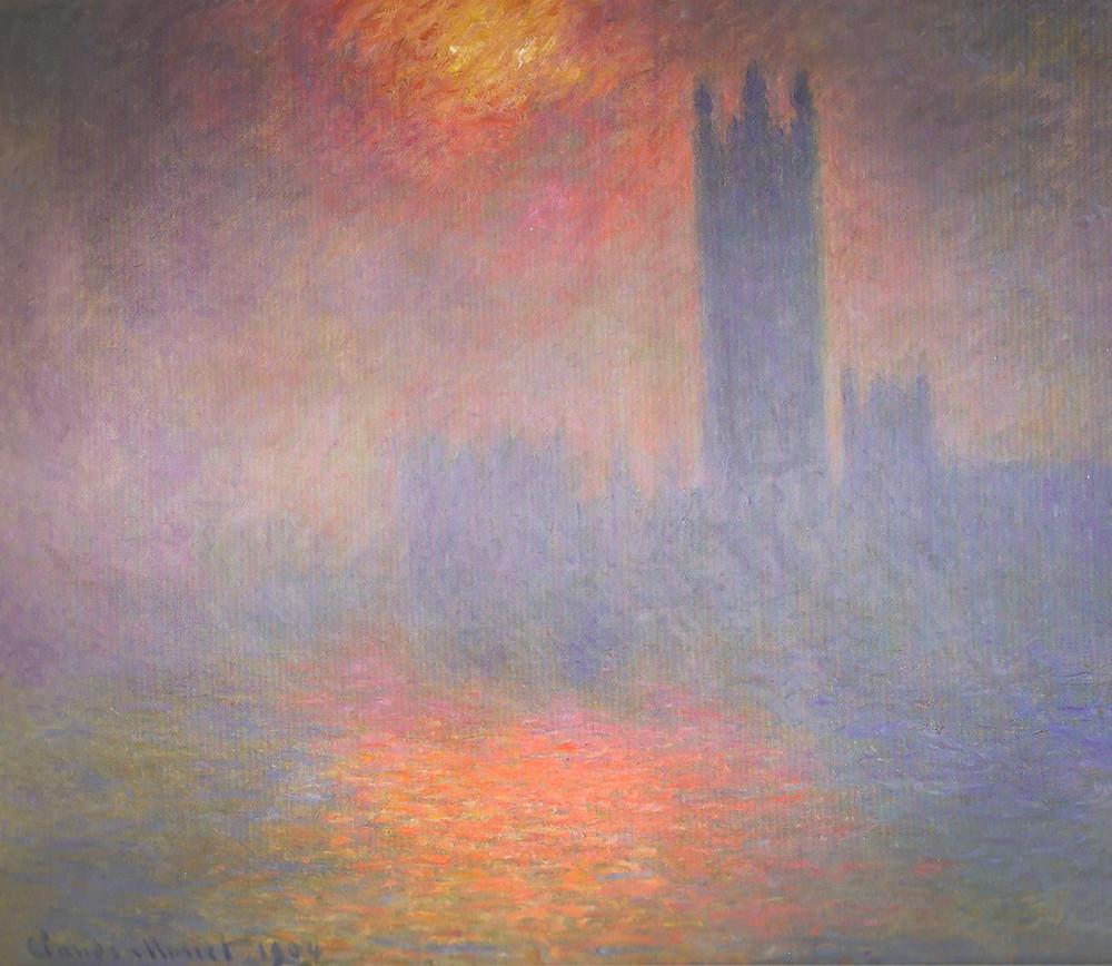 Claude Monet, Houses of Parliament, 1904