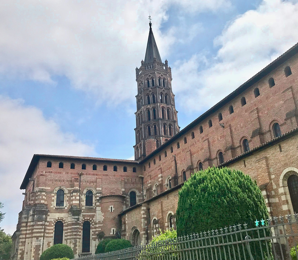 Basilica of Saint Sernin in Toulouse France