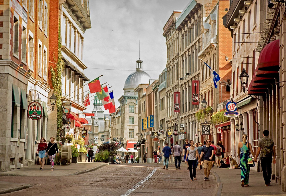 St-Paul Street, an unmissable site in Old Montreal