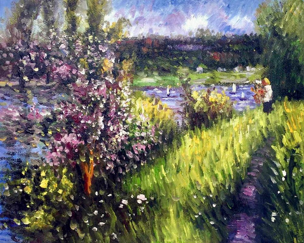 Renoir, Seine at Chatou, 1881